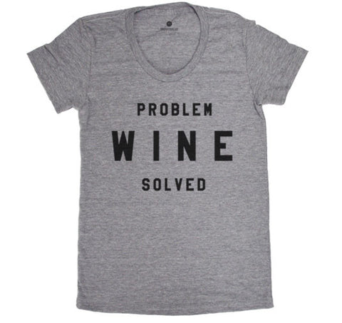 Problem Wine Solved - Womens