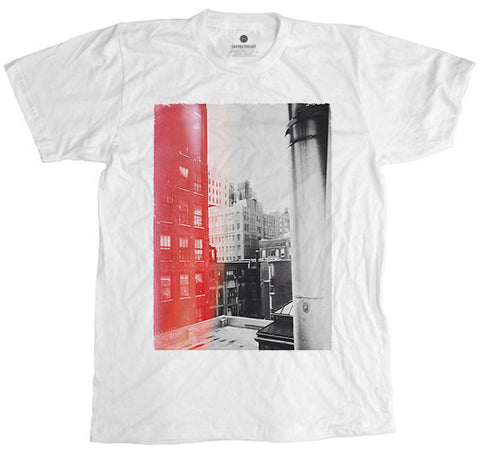 Red City White T-Shirt