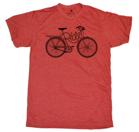 Ride Frame Heather Red T-Shirt