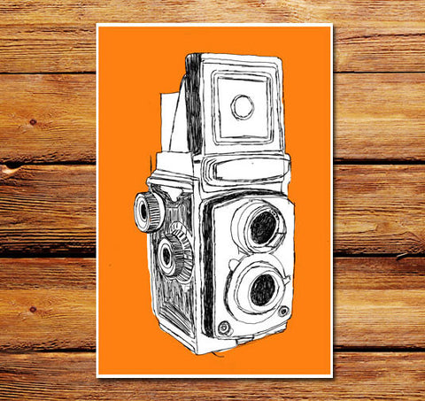 Large Format Camera Poster