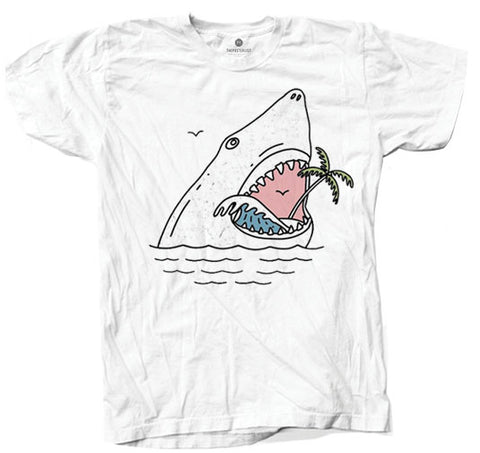Palm Shark 3 - White