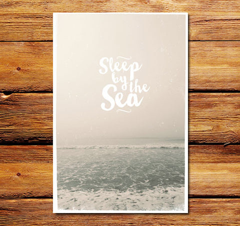 Sleep By The Sea Poster