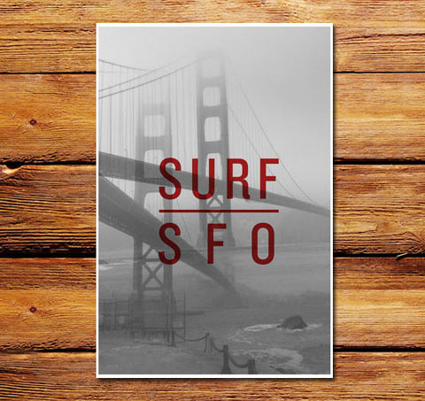 Surf SFO Poster