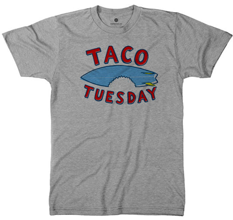 Taco Tuesday - Heather Grey T-Shirt