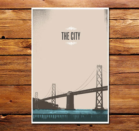 The City SF Poster