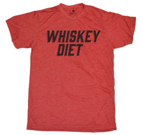 Whiskey Diet - Heather Red