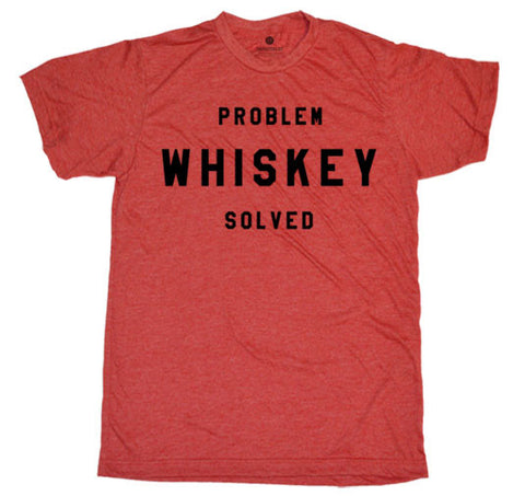 Problem Whiskey Solved Heather Red