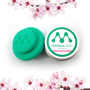 MINERALIZED Deodorant Powder - Cherry Blossom