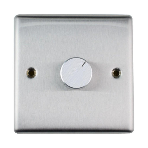K&B Audio Premium Stainless Steel In Wall Speaker Volume Switch (Stereo) - K&B Audio