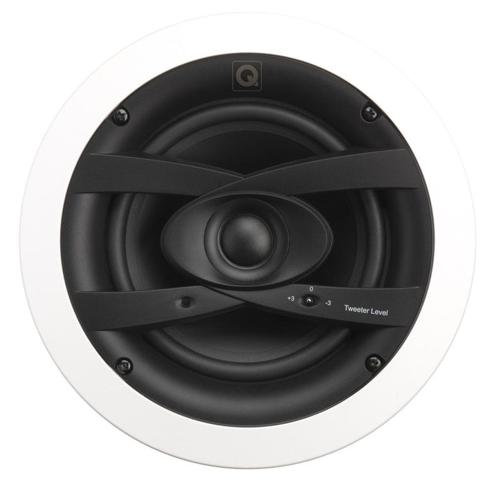 "Q Install QI65CW 6.5"" In Ceiling IP4X Wet Room and Weatherproof Speakers (Pair) - Tech4"