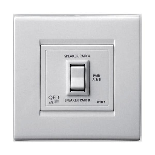 QED WM17 In Wall Speaker Switch (Series) - Tech4