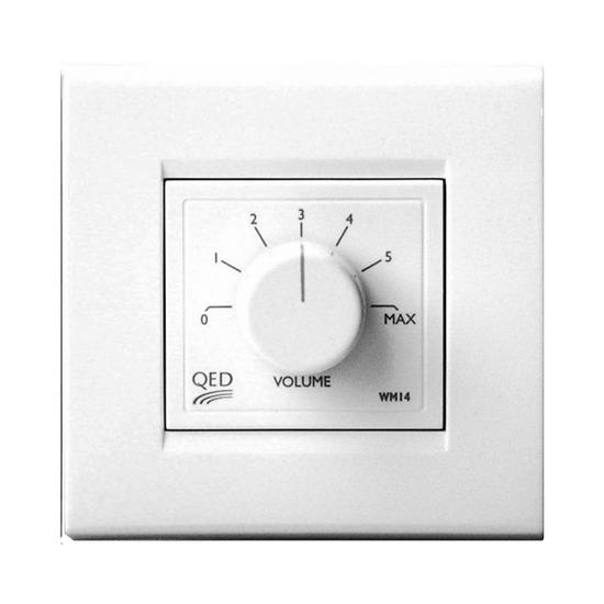 QED WM14 In Wall Volume Control - Tech4