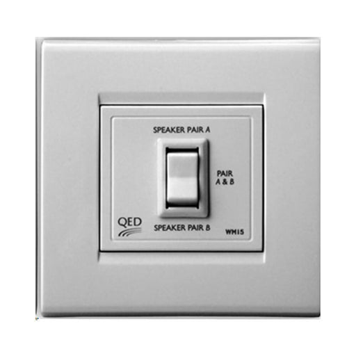 QED WM15 In Wall Speaker Switch (Parallel) - Tech4