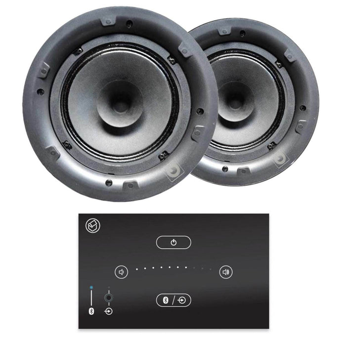 "Systemline E50 6.5"" Bluetooth Ceiling Speaker System - Gloss Black - Tech4"