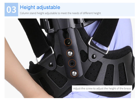 Adjustable Scoliosis Posture Corrector Adjustable height