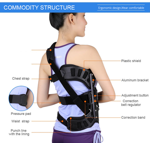Adjustable Scoliosis Posture Corrector detail