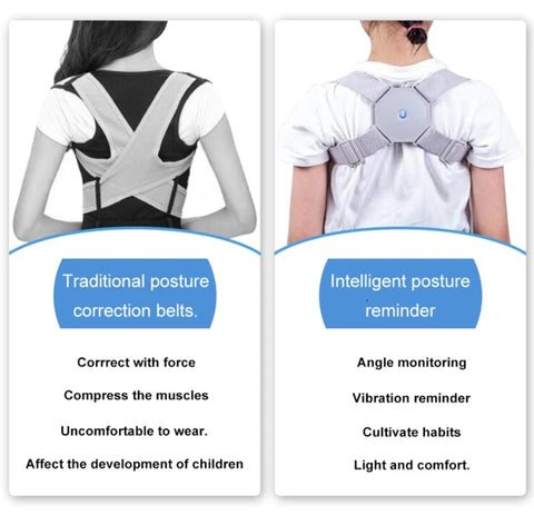 intelligent posture corrector comparison old and new