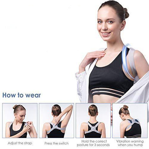 Intelligent Posture corrector invisible