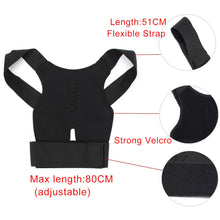 Load image into Gallery viewer, Back Lumbar Shoulder Corrector with Magnet Stone
