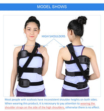 Load image into Gallery viewer, Adjustable Scoliosis Brace Posture Corrector