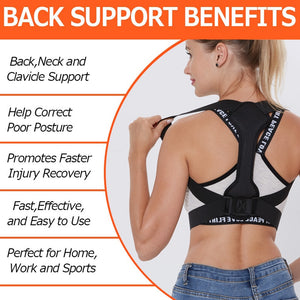 Back Posture Corrector Women Men