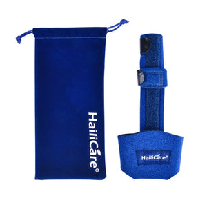 Adjustable Blue Finger Splint Posture