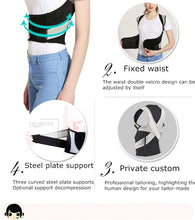 Load image into Gallery viewer, Lumbar Back Posture Correction Bandage For Men Women