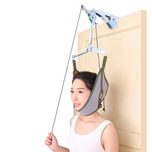Load image into Gallery viewer, Over Door Cervical Traction Neck Massager