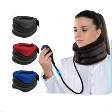 Load image into Gallery viewer, Neck Support Cervical Traction Collar Protector