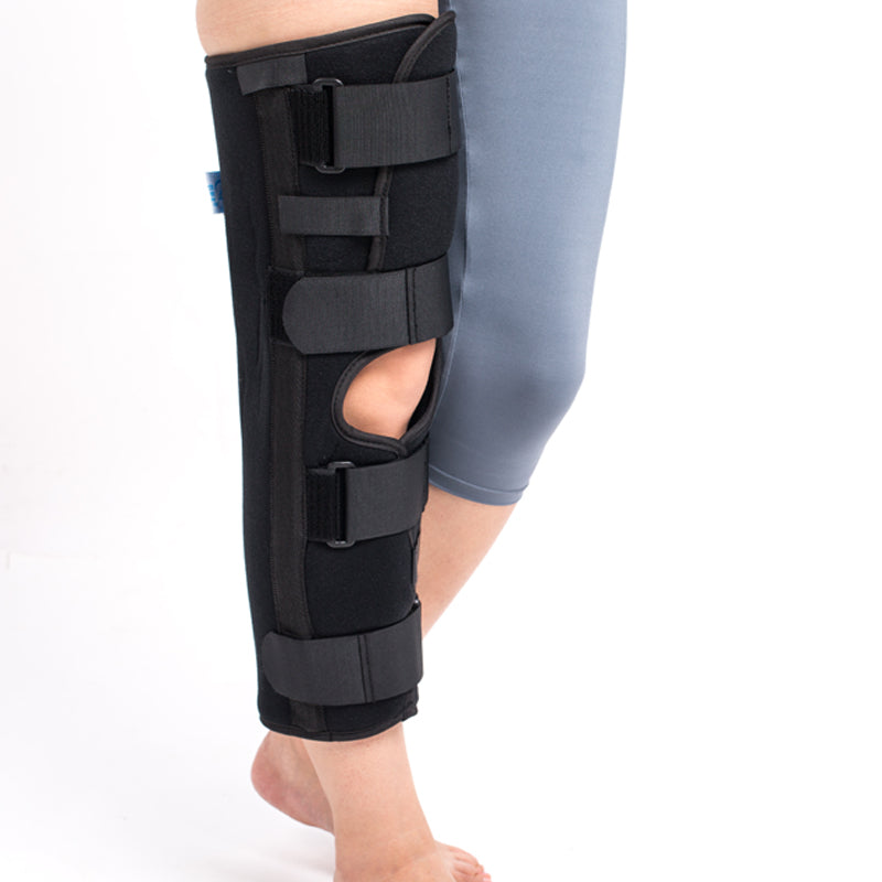 Knee Orthosis  Adjustable Hinged Knee Support