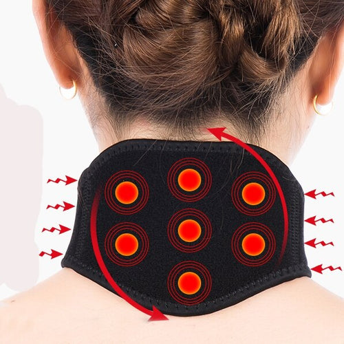 Self heating Cervical spine tape posture corrector