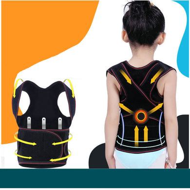 Children Kids Adjustable Magnetic Shoulder Posture Brace