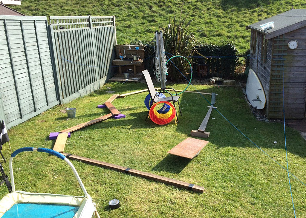 Aaron's Educational Assault Course | Little Lockdown Lessons: Embracing What We've Learnt