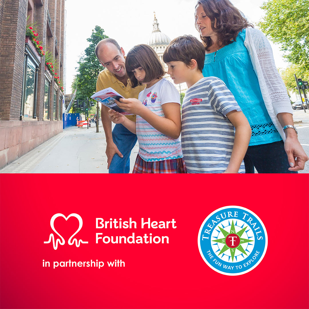 Treasure Trails Joins Forces with the British Heart Foundation