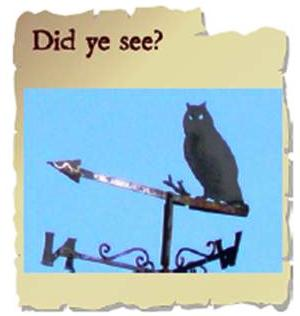 Children's Treasure Trails - A Picture Paints a Thousand Words - Weather Vanes are always so interesting