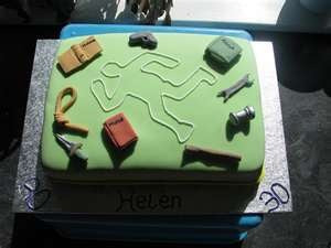 Murder Mystery Cakes - Whodunnit?