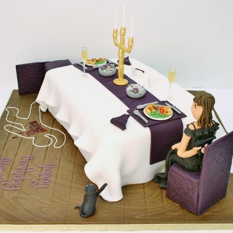 Murder Mystery Cakes - did she do it?