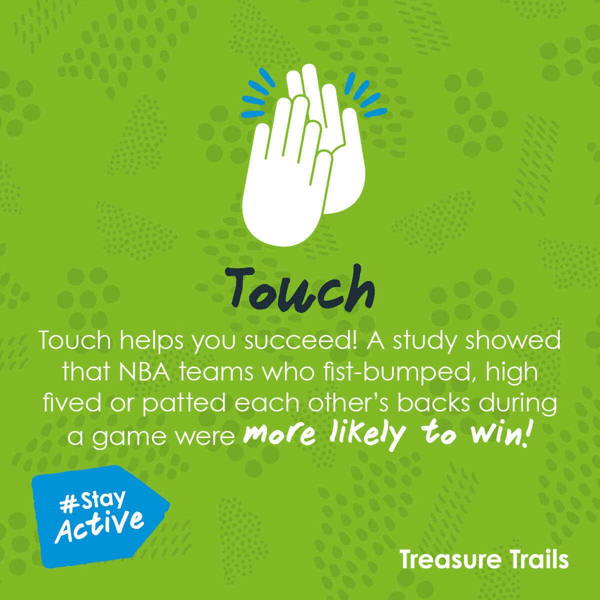 Touch - amazing fact