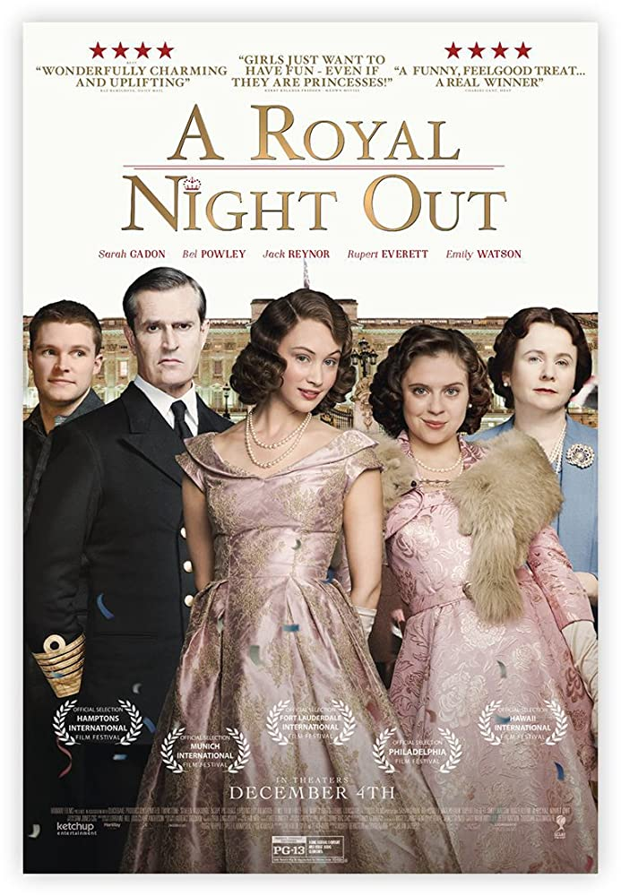 Our TOP Five… A Royal Night Out (2015)