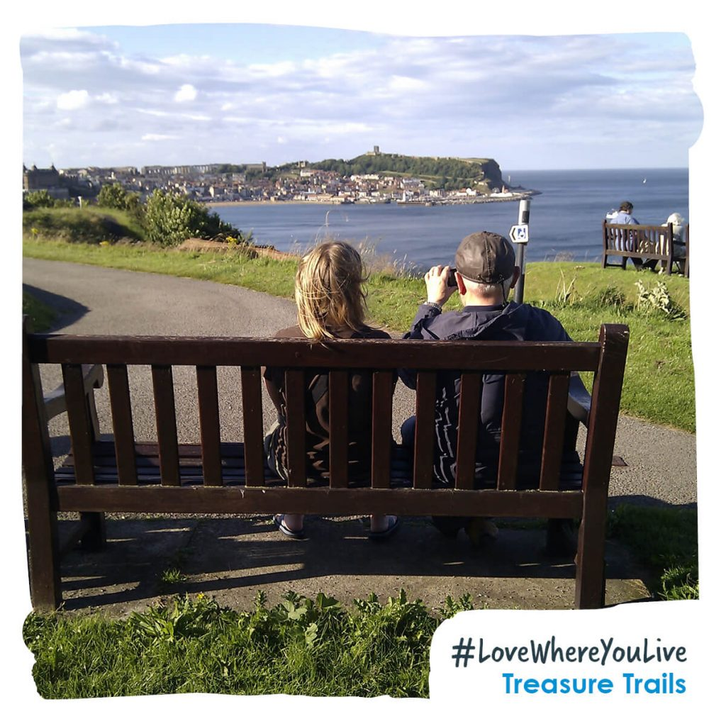 Bench with a view - South Bay, Scarborough