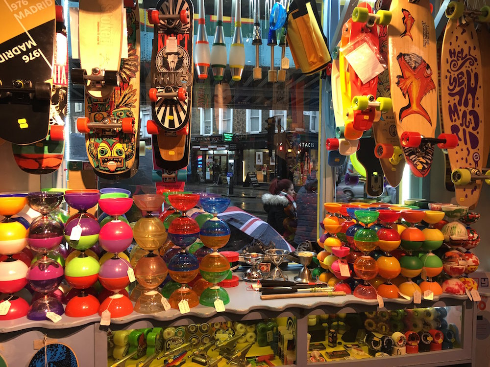 Things to do with a 10 Year Old in Camden Market - shopping