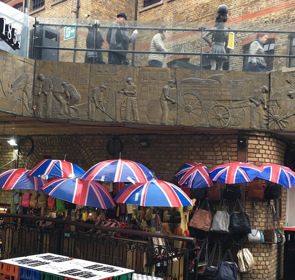Things to do with a 10 Year Old in Camden Market- raining