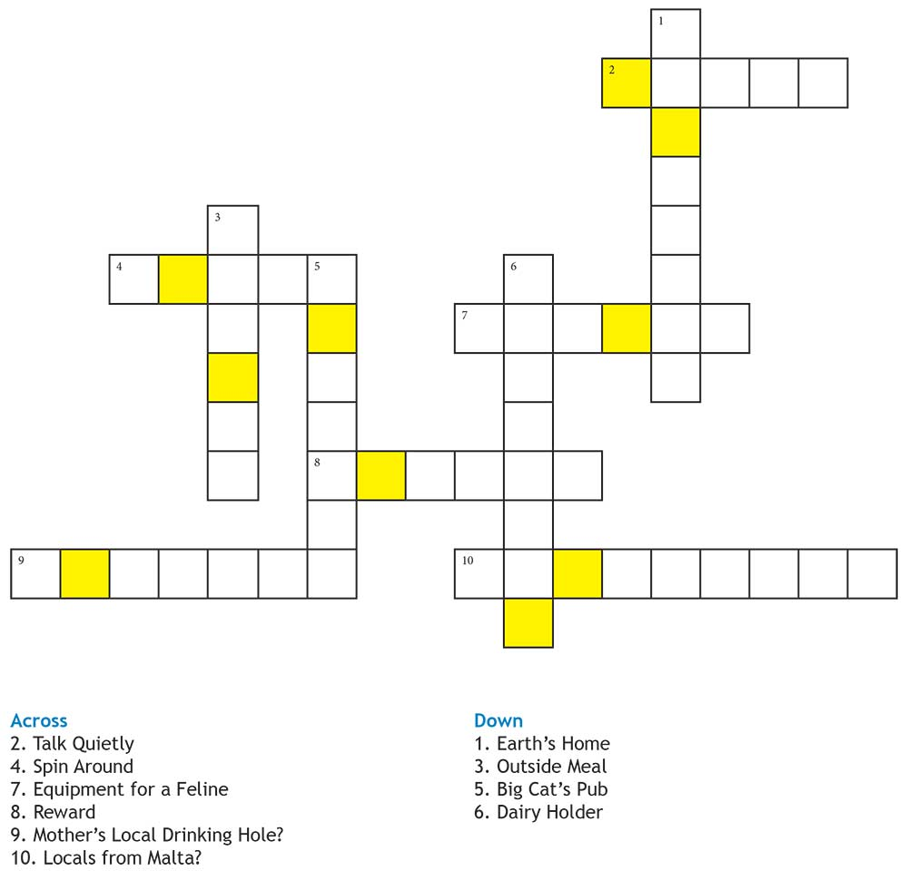 The Impossible Question - Crossword