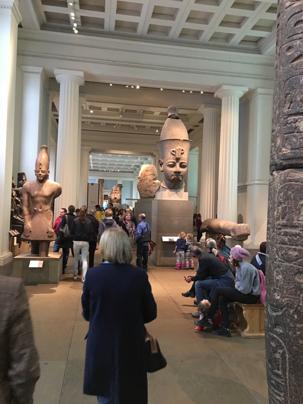 Fun Places to Eat in London - The British Museum