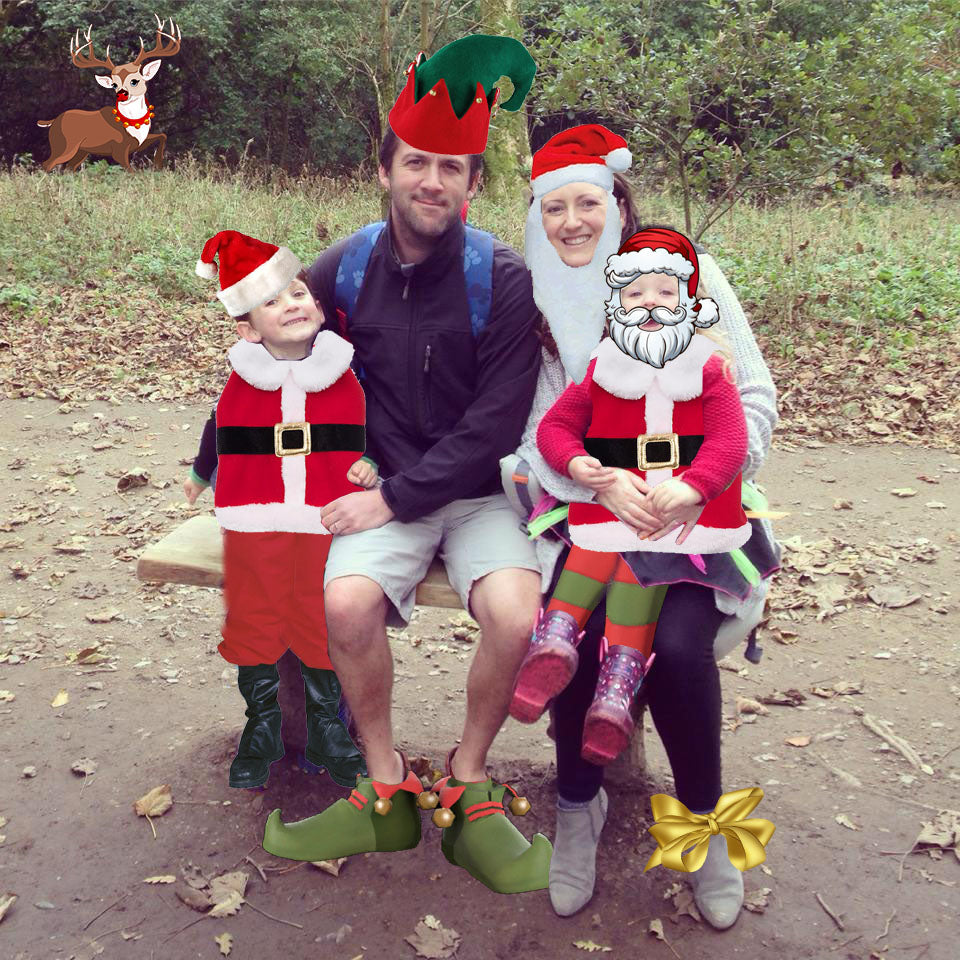 Merry Christmas from Max, Sam, Lucy & Emily