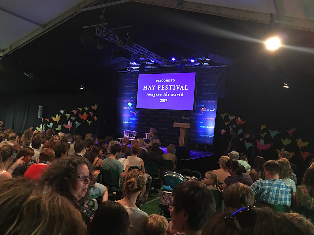 Hay Festival Revisited - Mr Cleghorn's Seal