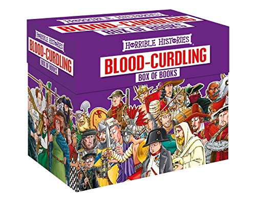 Our TOP Five… History Books (for kids) - Horrible Histories Blood-Curdling Box of Books
