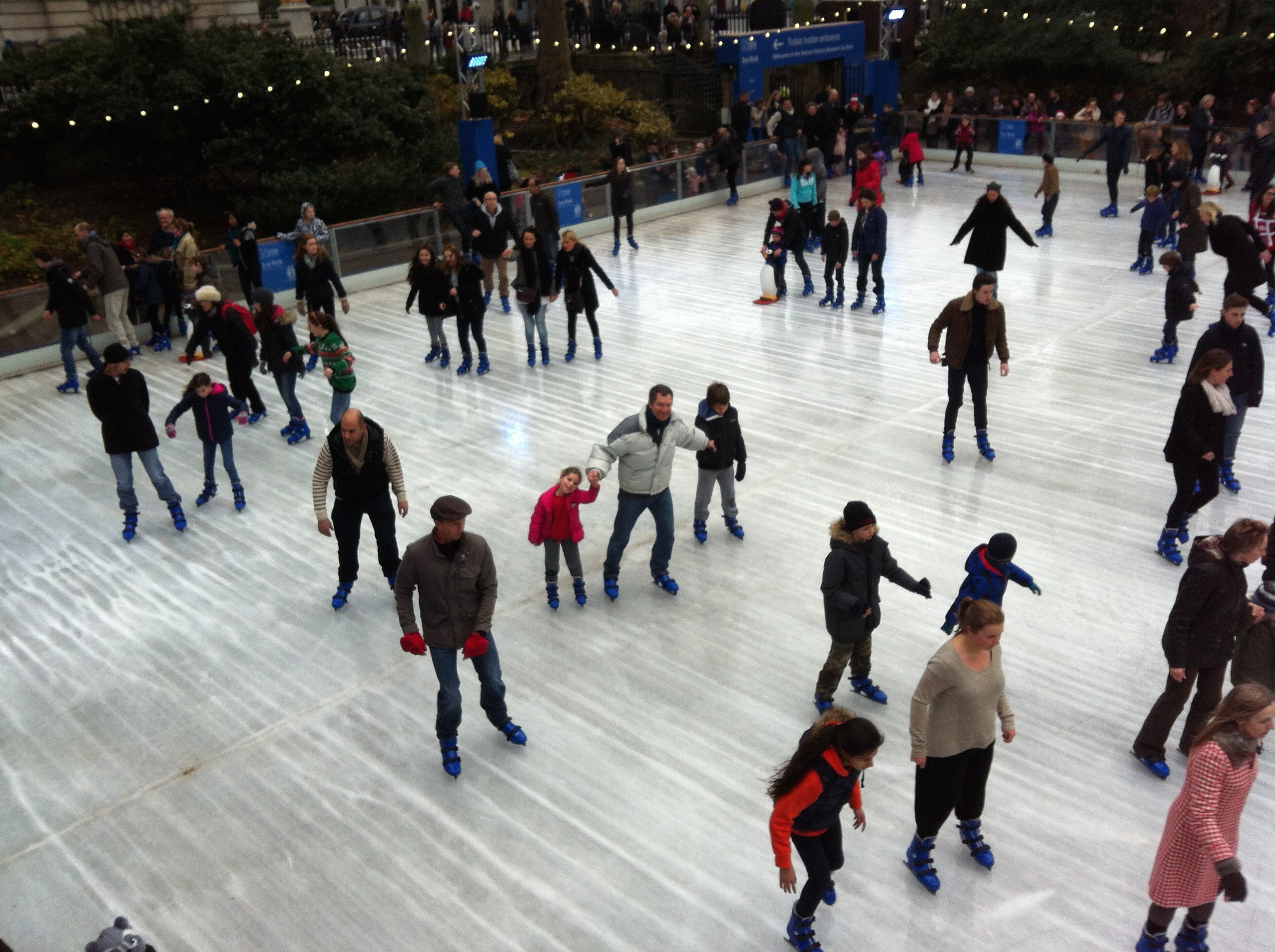 Things to do in London for Families - ice skating