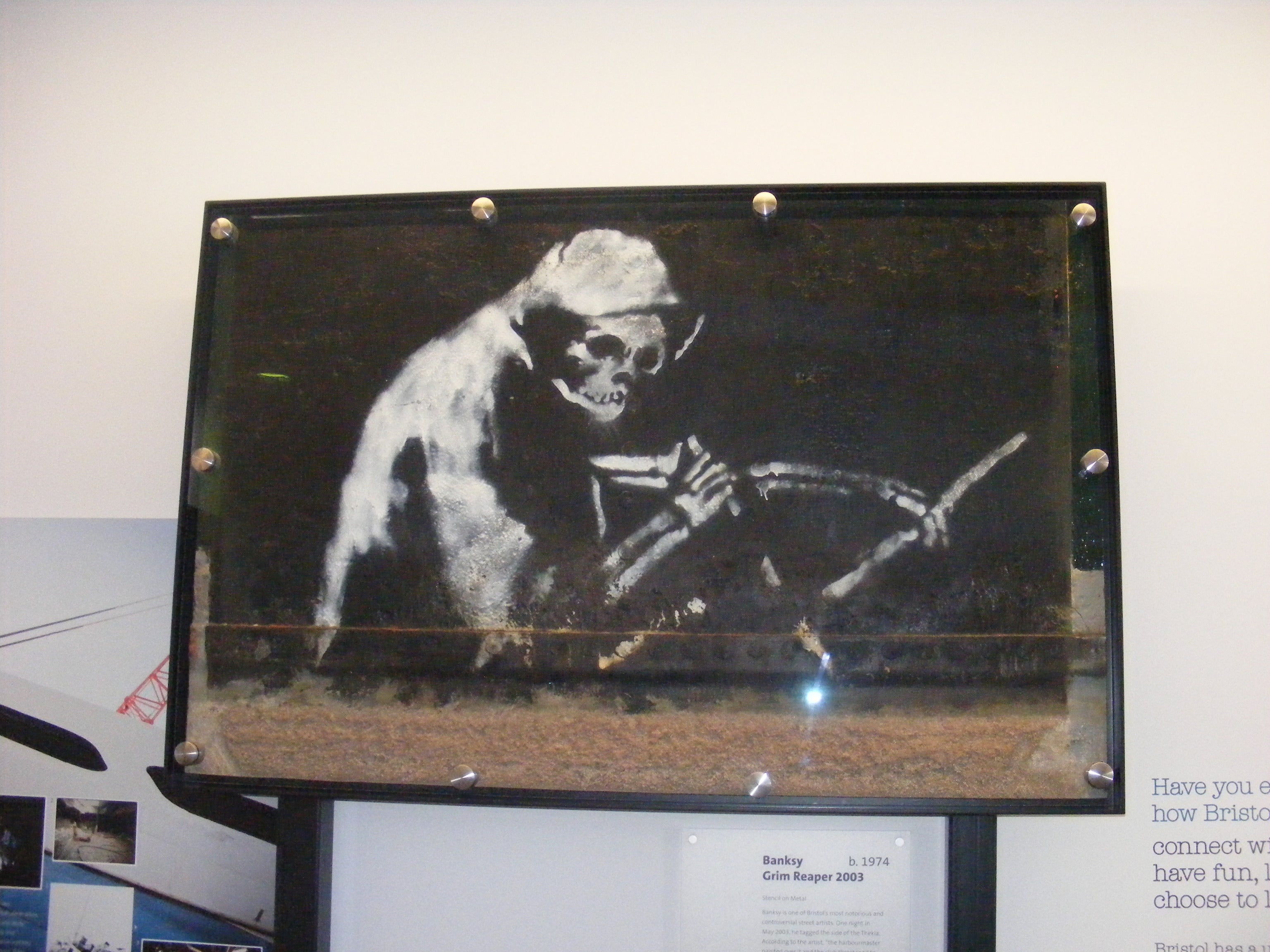 Things to do in Bristol - The M Shed Museum - Banksy