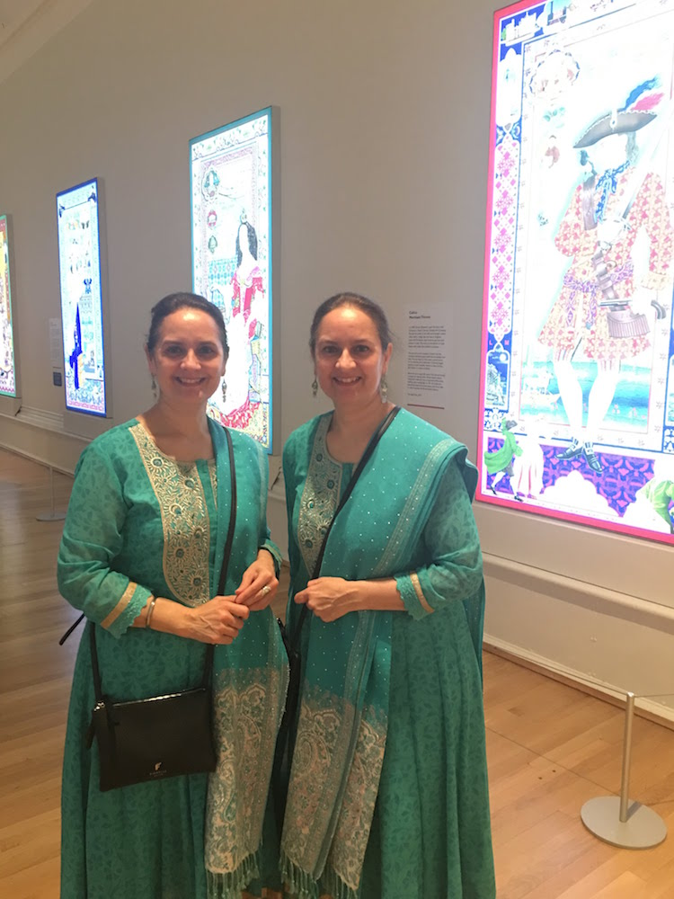 Museums and Galleries of Liverpool -  the Singh twins